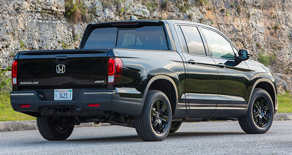 The 2019 Honda Ridgeline is a pleasure to drive