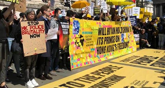 China threatens Hong Kong's economic, personal freedoms