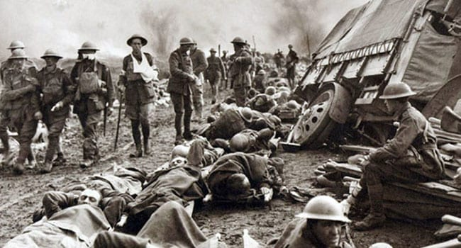 Our world forged in the trenches of the Great War