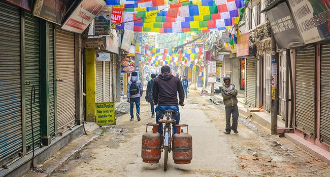 Thamel, Kathmandu, Nepal developing countries