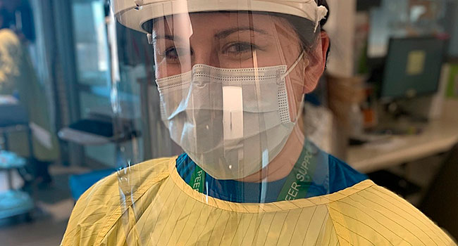 """3D printed protective wear """"shields"""" front-line health workers"""