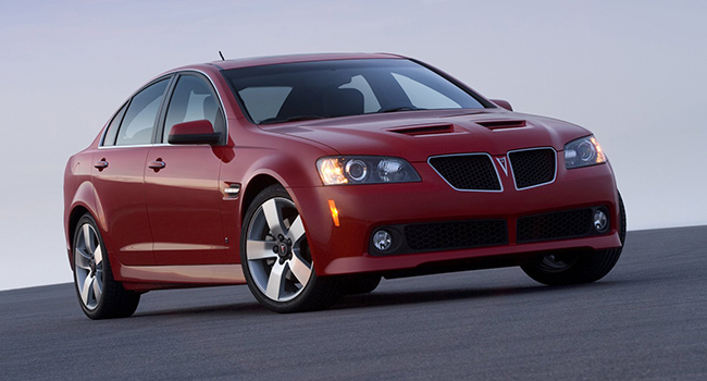 Pontiac G8: the blunder from Down Under?