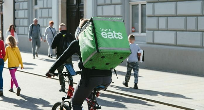 uber eats food delivrery