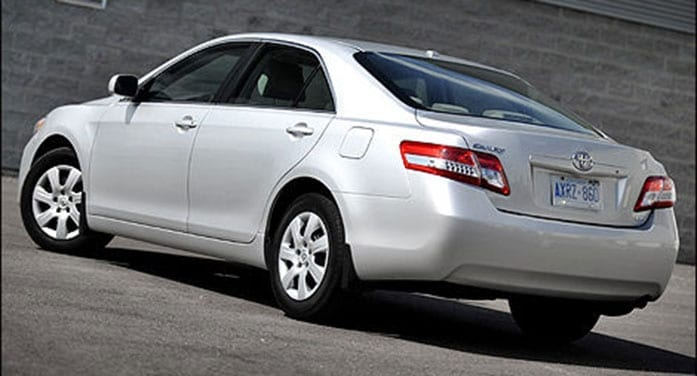Buying used: 2010 Toyota Camry has held its value well